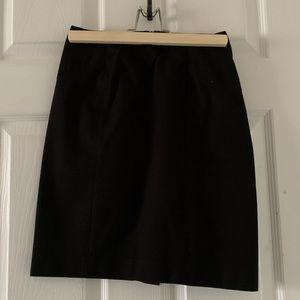 Banana Republic Black Skirt